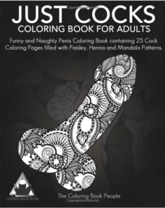 Just Cocks Coloring Book For Adults
