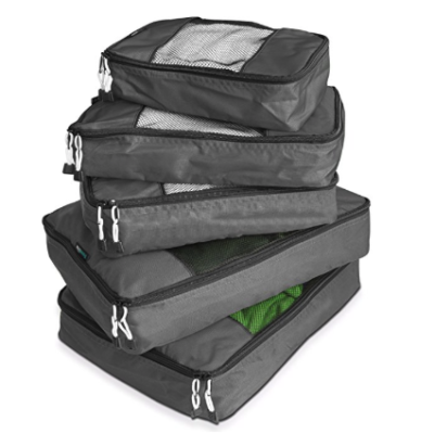 Travel with Packing Cubes – Travelwise 5-Piece $22.95