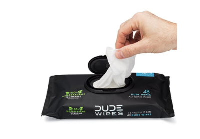 DUDE Wipes Flushable Wet Wipes Dispenser