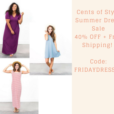 F Yes the Dress is On Sale at Cents of Style!