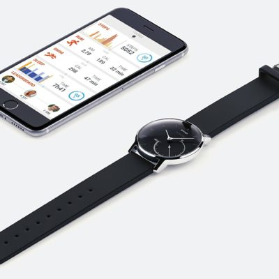Track Your Activity and Lack of Sleep with Withings Activite Steel Watch