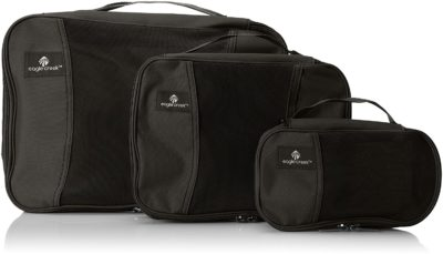 Eagle Creek Pack It Cube Set, Black, 3pc Set